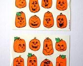 Jack O Lantern Stickers
