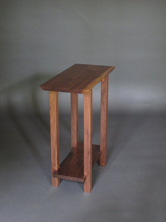 Petit étroite table de chevet bois mobilier moderne table