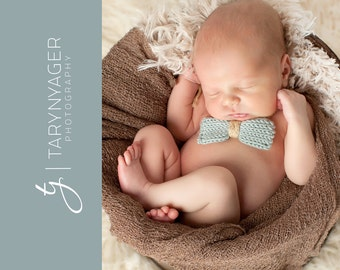 Baby boy bow tie / knit bow tie / newborn boy bowtie / baby photo prop boys / newborn boy bow tie / photography props baby boy