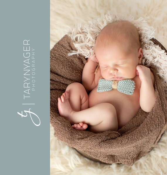 Knitting For Newborn Photography : Baby boy bow tie knit newborn bowtie