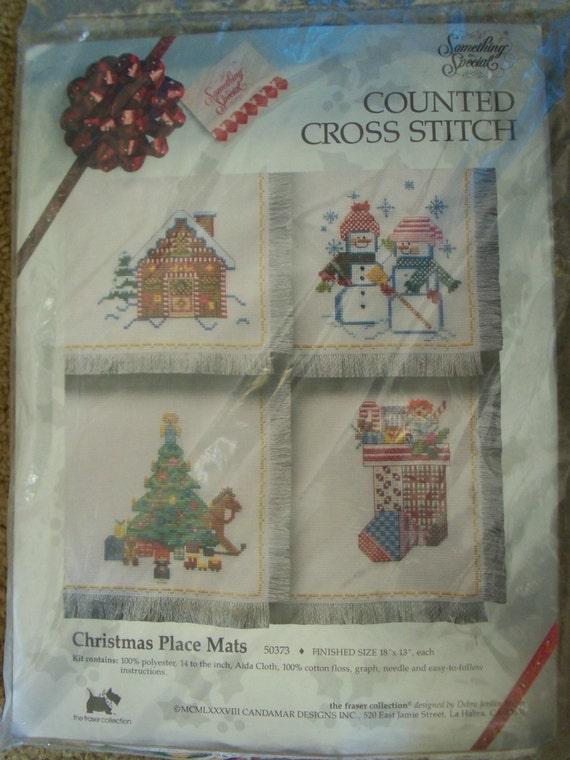 Cross Stitch Christmas Ornament