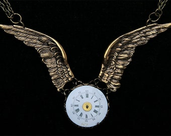 Winged collar with Dial Watch and old workings