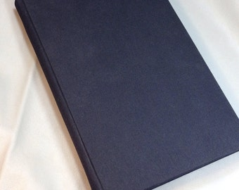 Little Black Book, Black Notebook, Handbound Writing Journal, Hardback Sketchbook, Handcrafted Diary, Wedding Guest Book, Address Book