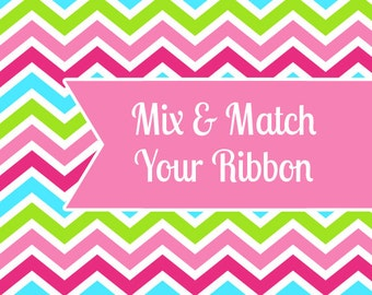 Mix & Match 3 Yards Of Ribbon