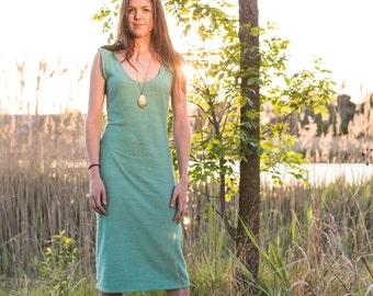 Long Classic Dress - Hemp and Organic Cotton Jersey Dress