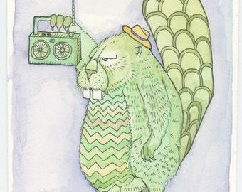 Custom Character Illustration