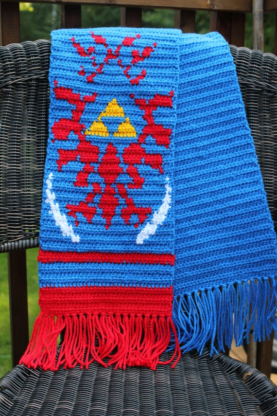Hyrule Warriors Link Scarf Pattern Hyrule Warriors Link Inspired