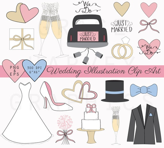 Modern Wedding Clipart | www.imgkid.com - The Image Kid ...