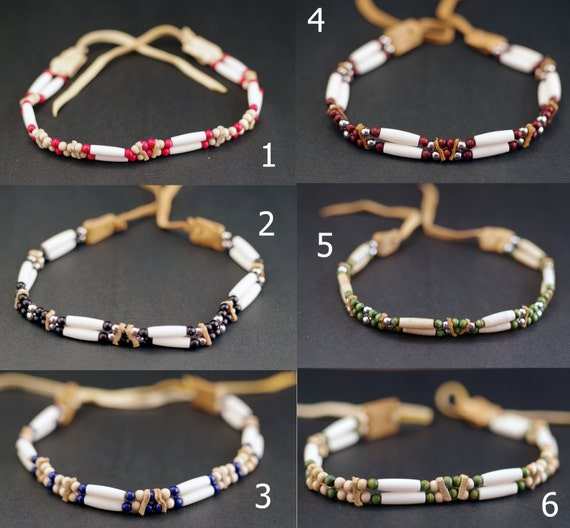 Mens Native American Beads: Items Similar To Native American Style Necklace, Beaded