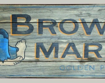 Custom Designed and Painted Signs...your design or one designed for you. Interior or Exterior.