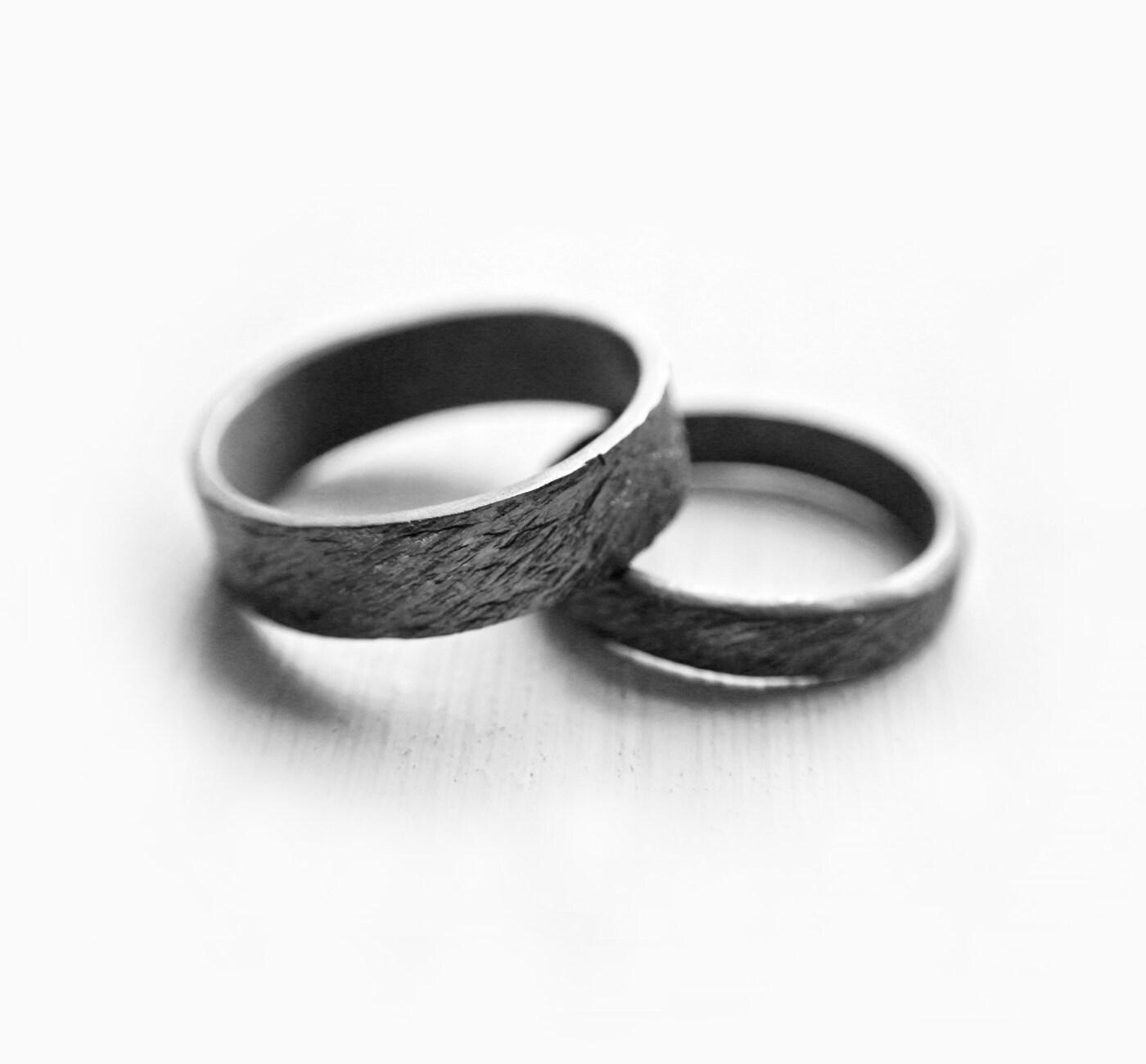 ripples couple rings // promise rings // promise ring set //