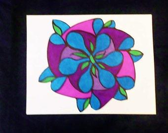 Pinwheel Flower 1