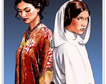 Princess Leia & Inara Serra - The Princess and the Companion
