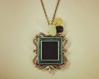Vintage-inspired Locket Necklace