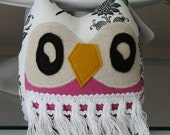 April the Owlet little owl pillow plushie