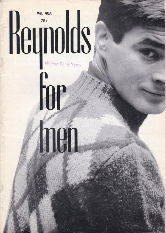 Reynolds For Men Vol. 40a - Vintage Knitting Patterns