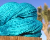 Lace Weight Yarn - BFL Wool and Silk - Victory