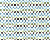 Stitch Organic Birdseye in Lagoon - One yard