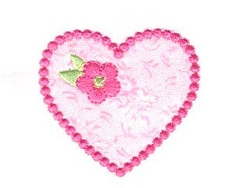 Heart Applique, Valentine's Applique, Heart Embroidery, Valentine's Embroidery, Valentine's Day, Machine Embroidery Design, Instant Download