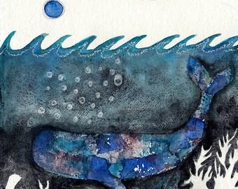 Blue Moon Whale