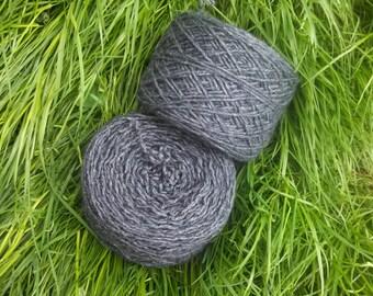 Sherlock's Mental Fog - Recycled Yarn - Acrylic/Wool Mix - 85g (approc 170yds)