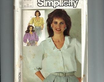 Simplicity MIsses' Blouse Pattern 7562