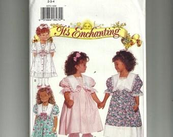Butterick  Children's Dress and Pantaloons Pattern 3272