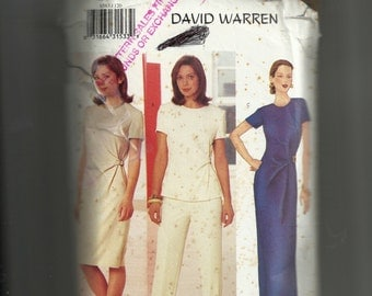 Butterick Misses' Dress , Top, and Pants Pattern 6583