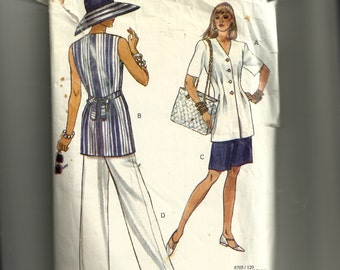 Vogue Misses' Top, Shorts and Pants Pattern 8705