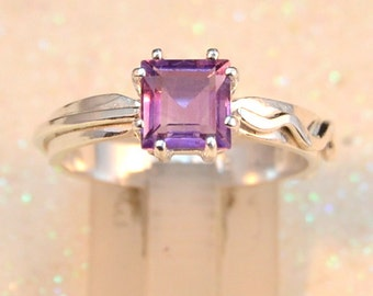 Veer - Amethyst gemstone ring