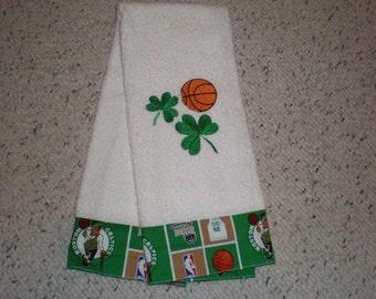 Boston Celtics Terry Hand Towel
