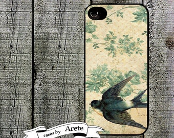 iphone 6 case Victorian Swallow Cell Phone Case - for iPhone 4,4s, iPhone 5, 5s, iPhone 5c, Samsung Galaxy s3,s4