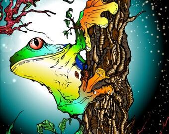 CLIMBING TREES - PRINT