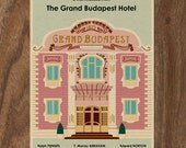 The GRAND BUDAPEST HOTEL Limited Edition Print