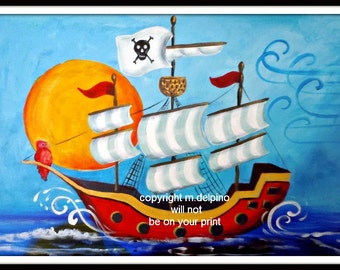 Popular Items For Pirate Theme Nursery On Etsy