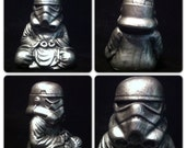 Pewter   Zen Trooper Custom Buddha stormtrooper original  Sculpt and cast