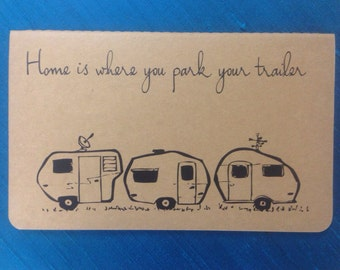 Home is where you park your trailer journal