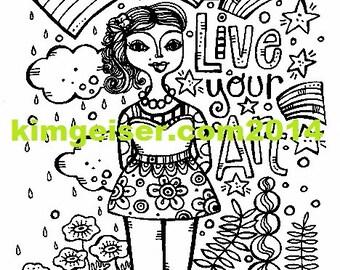 Live your ART digital download