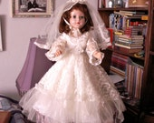 Sweet Sue Bride Vintage American Character Doll 1950s AS IS