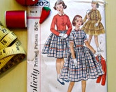 Vintage Sewing Pattern | Girls' One-Piece Dress and Jacket