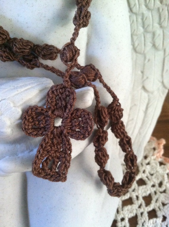 crocheted rosary