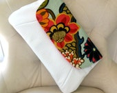 Gorgeous Chiang Mai Design and Faux Leather Oversized Fold over Clutch