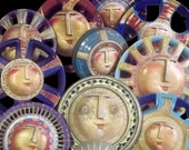 """Print """"It's gettin' hot in here"""" sun assemblages"""