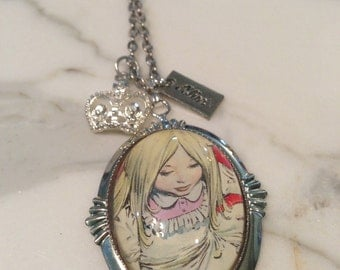Alice in Wonderland Necklace and Charms