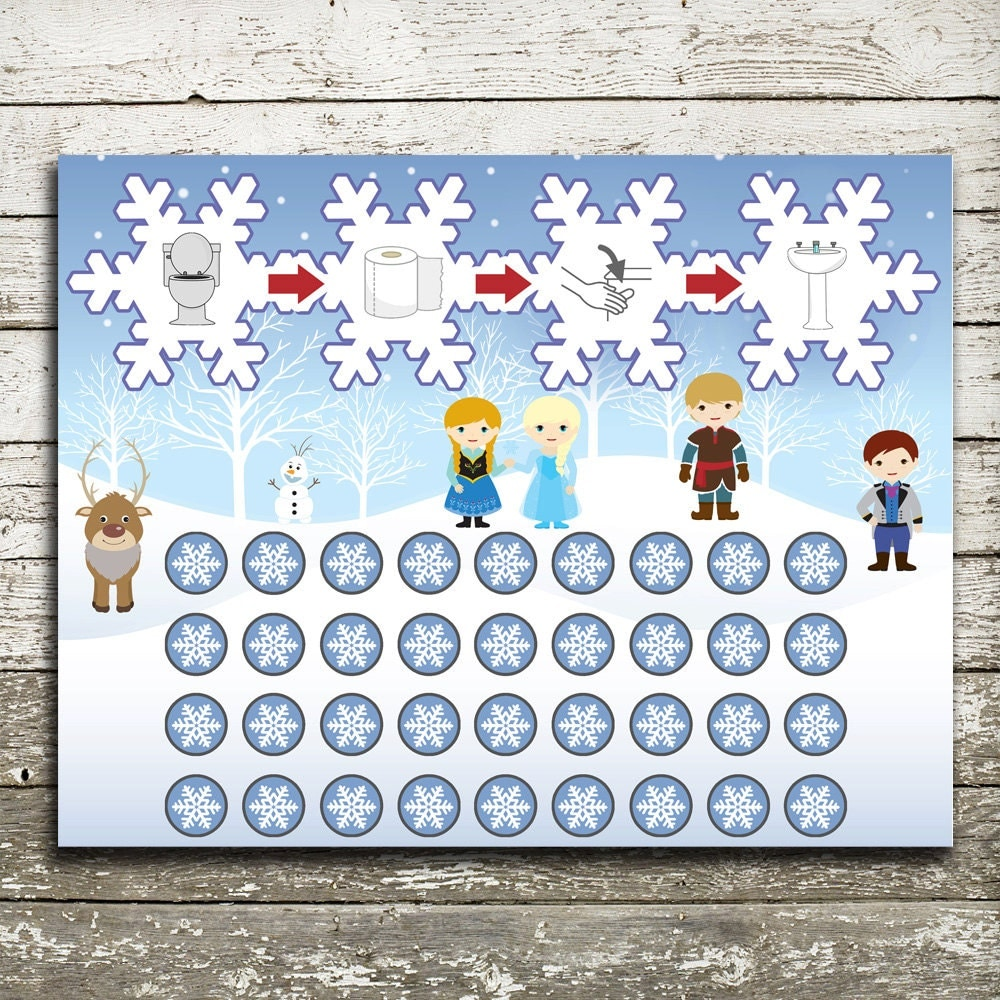 disney frozen potty training chart instant pdf 🔎zoom