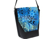 Backpack Convertible Bag - Shoulder Bag - Cross Body Purse - iPad Purse -3 in 1 bag- REMOVABLE FLAP - Borsa Bella - Frozen Fabric