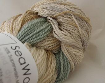 MUSHROOM - SeaWool Merino/SeaCell Sock Yarn