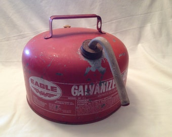 Eagle Gas Can 2 1/2 Gallon Industrial