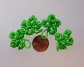 Rainbow Loom Four Leaf Clover Green Rubber Bands Lucky