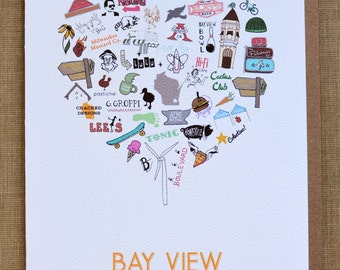 Bay View (Milwaukee neighborhood) Single Card